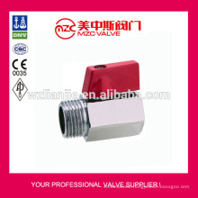 Stainless Steel Mini Ball Valve F/M Threaded Ends PN63 Mini Ball Valve